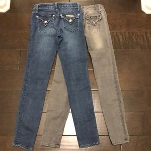 Pair of Hudson Jeans - girl's sizing